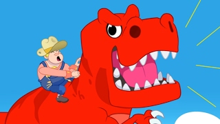 Crazy Rodeo with Morphle - My Magic Pet Morphle animation video for kids