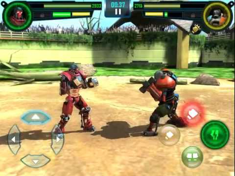Real Steel World Robot Boxing Gigantes De Acero 3er Combate