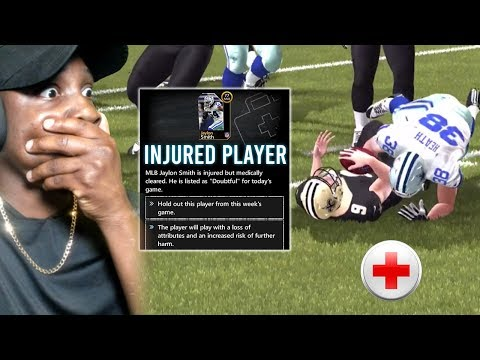 INJURED PLAYER! MADDEN MOBILE 20 Season Mode Gameplay Ep. 4