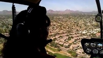 Helicopter tour of Phoenix