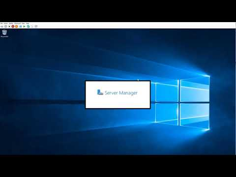 Creating A Hyper V Virtual Master Disk - Demonstrated With Windows Server 2019 Standard