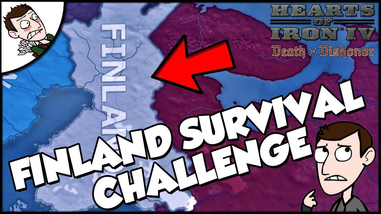 Hearts of Iron 4 HOI4 Finland Survives The Soviet Bear Challenge