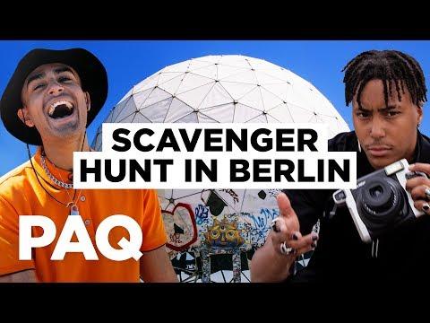 We Unlocked Berlin's Secrets... SCAVENGER HUNT CHALLENGE (ft. HUGO) | PAQ EP#38