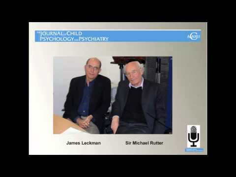 The Journal of Child Psychology and Psychiatry Annual Research Review 2012 Podcast, Part 1