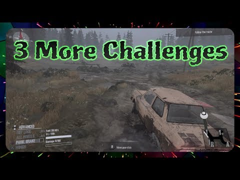 Spintires: MudRunner - Some Challenges Are Easy, Others Difficult - Ep.5