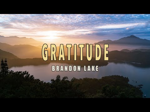 Gratitude - Brandon Lake - Lyric Video
