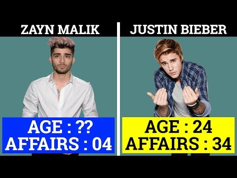 Justin Bieber  VS Zayn Malik | Songs | Age | Affairs | Net Worth | House | Cars | Lifestyle