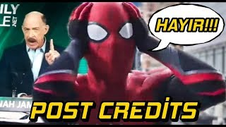 SON SAHNELER - SPİDER-MAN FAR FROM HOME POST-CREDİTS İNCELEME