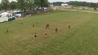 Brecksville Broadview Heights Rugby Team's Red vs. Gold game