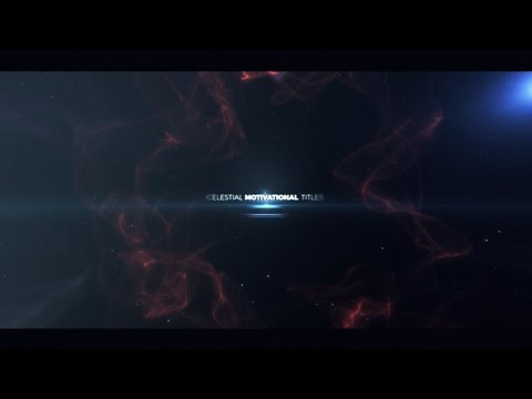 motivational titles after effects template youtube