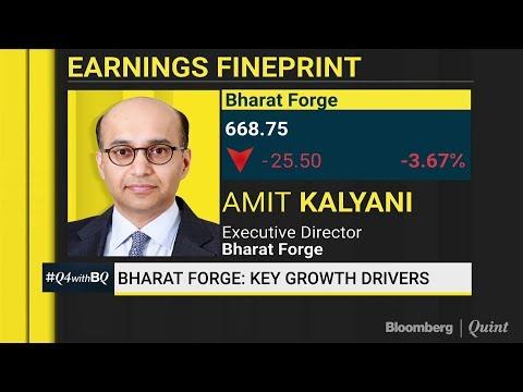 Bharat Forge's Profit Declines After Four Quarters