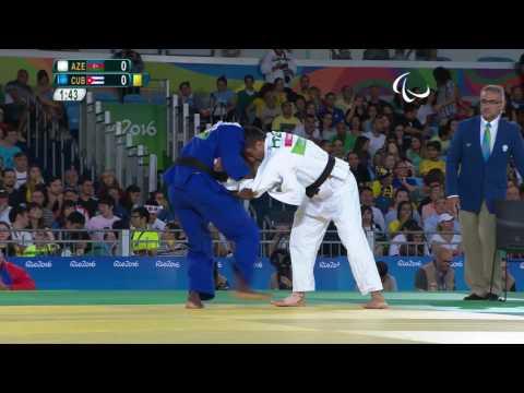 Judo | AZE X CUB | Men's 73 kg | Quarter-final | Rio 2016 Paralympic Games