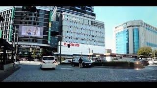 広島市内を廻る車載動画(2017年版)です。三角州地域に集積する市街中...