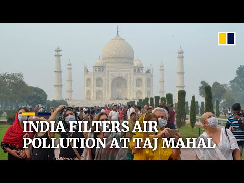 India sets up air purifier vans to try and protect Taj Mahal from pollution