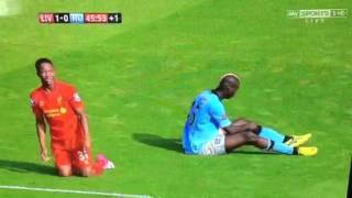 Liverpool vs man city 2012/2013 gay ref
