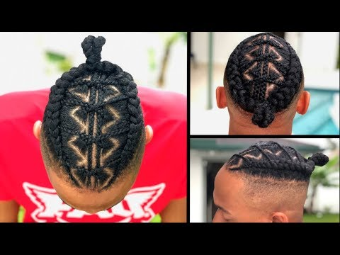 braided-man-bun-&-detailed-hair-prep-#1