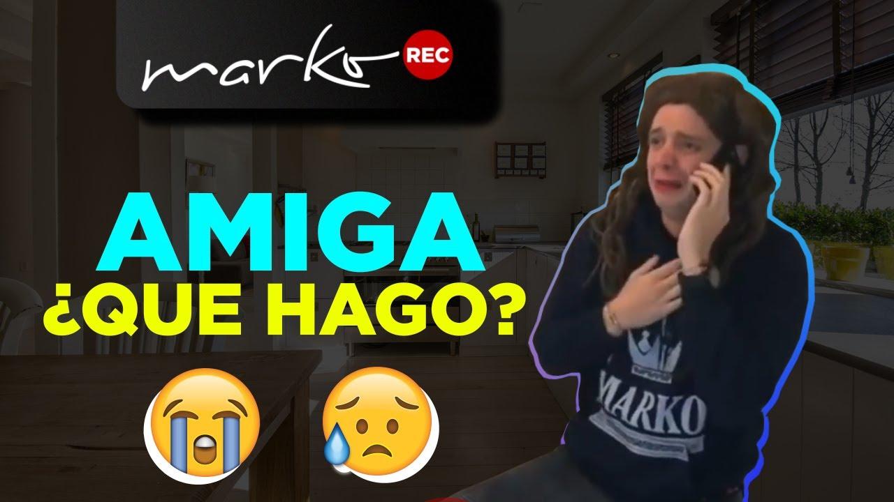 AMIGA NO CREO QUE AGUANTE!! l @Marko en Youtube