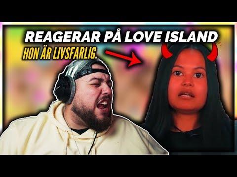 REAGERAR P LOVE ISLAND: JAG R LIVRDD FR HENNE!! *YIKES*