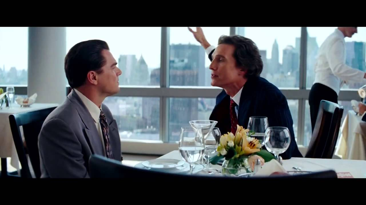 a personal narrative about the experience of watching the wolf of wall street