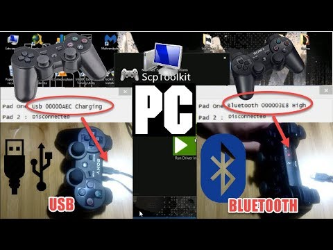 Conectar Mando PS3 Original O Pirata Por Bluetooth Y Usb Al Pc Windows 7/8/10 ¡Guía Comprobada!