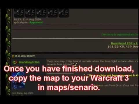 warcraft 3 frozen throne all maps free download