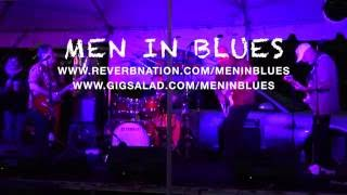 Men in Blues perform Too Rolling Stoned by Robin Trower, live