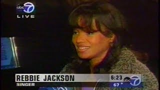 Rebbie Jackson talks new album, being compared to Michael & Janet, etc. (1998)