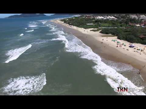Praia do Campeche - vista de cima (Dji phantom 3 professional)