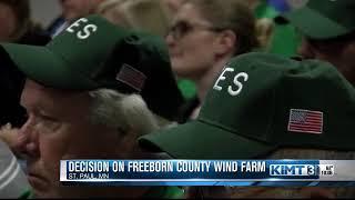 Wind farm decision