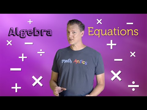 Algebra Basics: Solving 2-Step Equations - Math Antics