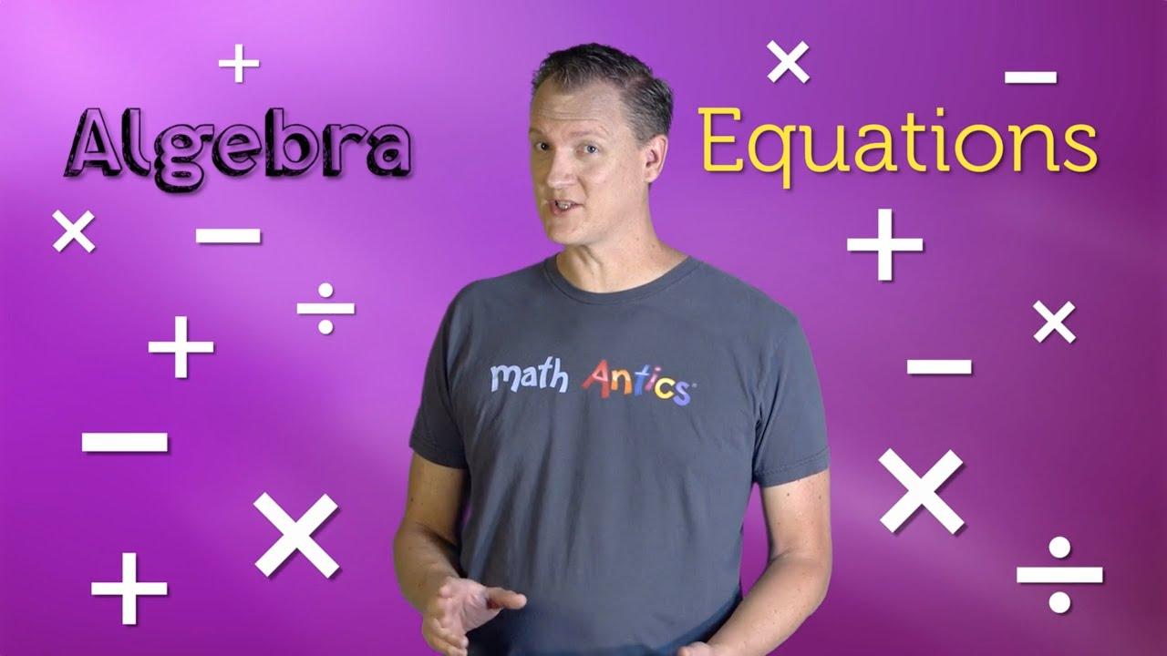 Algebra Basics Solving 2 Step Equations