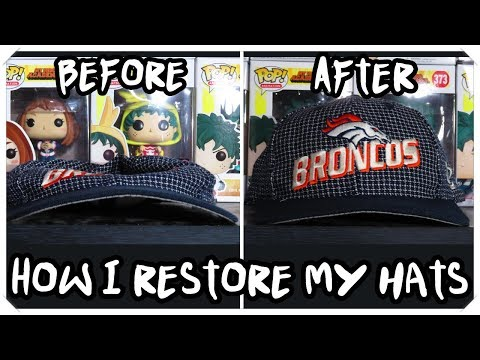 How I Restore My Vintage Hats I Thrift