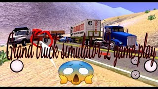 Kenworth T800 accidente bajando los caracoles a valparaiso no lo vas a creer game play #9
