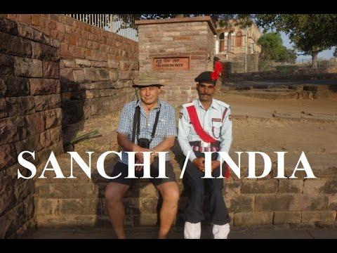 India - Sanchi Town & Great Stupa Part 33 (HD)