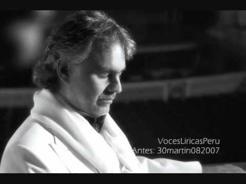 Plaisir d'amour - tenor Andrea Bocelli (ITALIA)