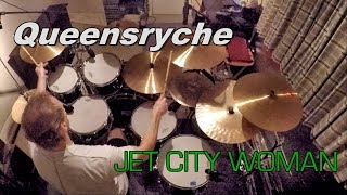 Queensryche - Jet City Woman (drum Cover)