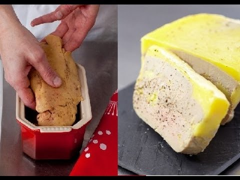 Technique de cuisine : cuire un foie gras au naturel. - YouTube on