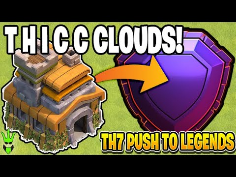 CLAN GAMES MAKE THE CLOUDS T H I C C - Clash Of  Clans