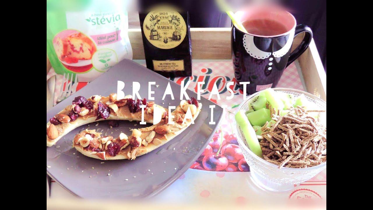 healthy breakfast idea id e de petit d jeuner quilibr 2 youtube. Black Bedroom Furniture Sets. Home Design Ideas