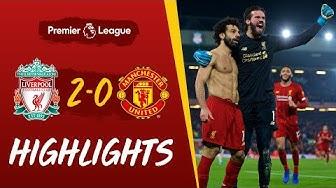 Liverpool 2-0 Man Utd | Van Dijk und Salah gewinnen es in Anfield | Highlights