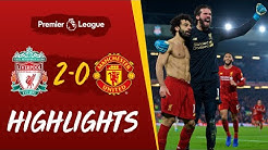 Liverpool 2-0 Man Utd | Van Dijk and Salah win it at Anfield | Highlights
