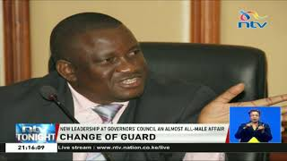 Governor Wycliffe Oparanya takes over as the Council of Governors Chairman