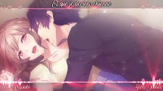Nightcore French ~ Que Je T'Aime (+PAROLES - Cover)