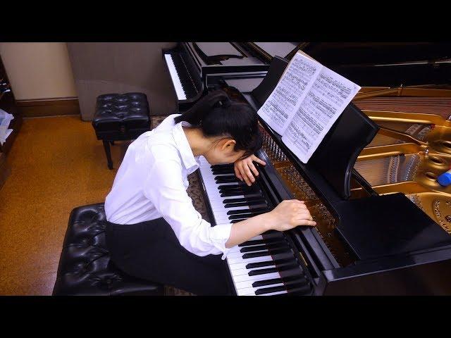 Practicing Rachmaninoff 3rd Concerto... 😳😅 - Tiffany Vlogs #67