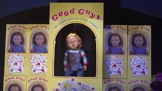 Revenge of Chucky SCARE ZONE at Universal Orlando Halloween Horror Nights 2018