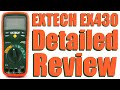 Extech EX430 Multimeter Detailed Review - #0088