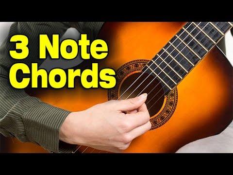 RHYTHM GUITAR: Fingerboard Quantum Leap (3 Note Chords)