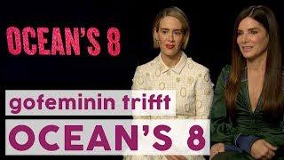 Video Sandra Bullock & die Ladys von 'Ocean's 8' im Interview 💎 | STARS download MP3, 3GP, MP4, WEBM, AVI, FLV November 2018