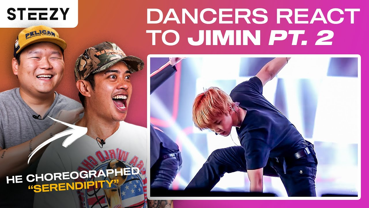 Download Dancers React To BTS Jimin's Dancing (Part 2) ft. Brian Puspos | STEEZY.CO