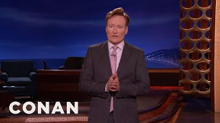Conan Explains The Punchlines Of His Jokes  - CONAN on TBS